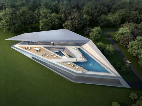 Zaha Hadid concept house