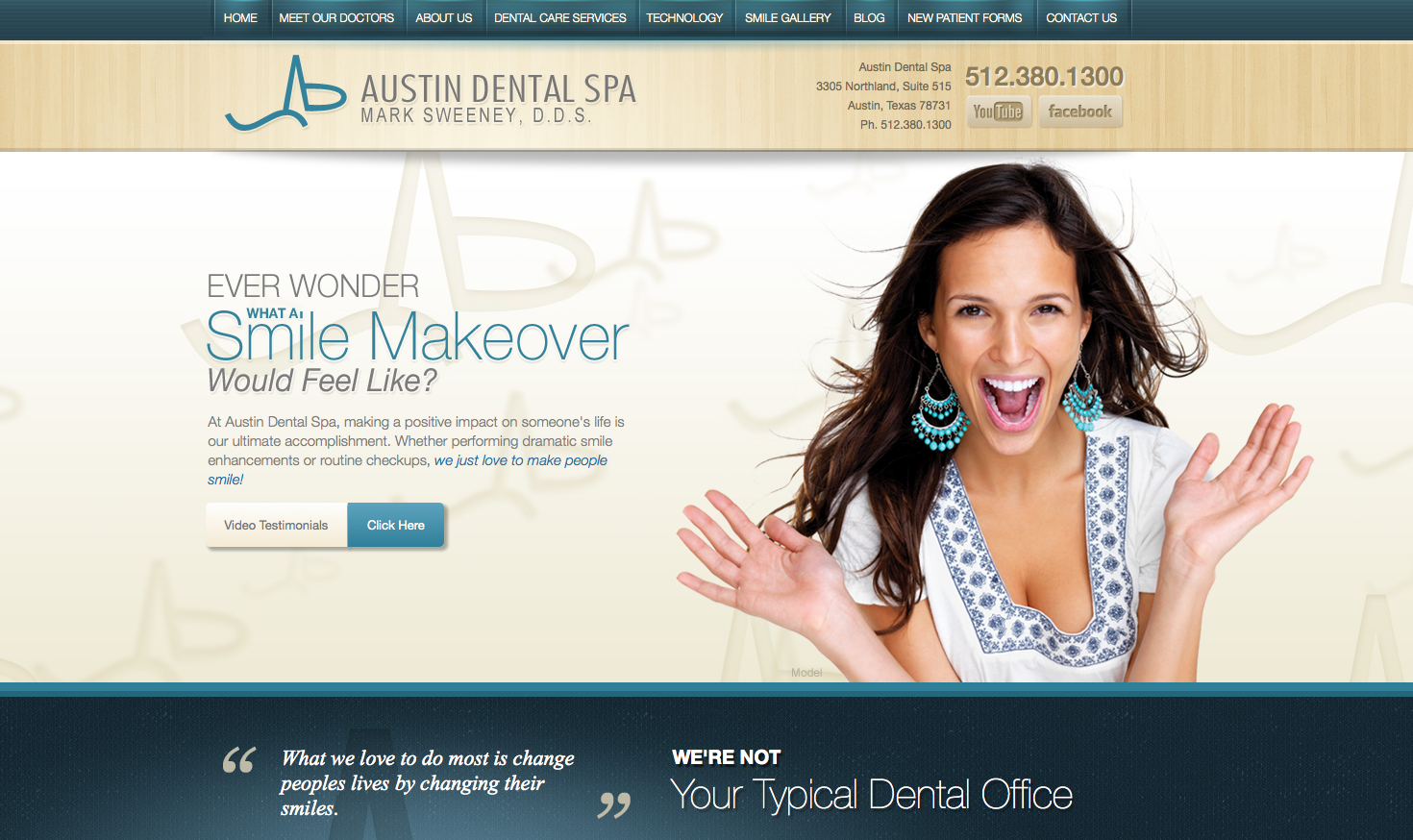 Cosmetic Dentistry Practice in Austin Launches New Website to ...