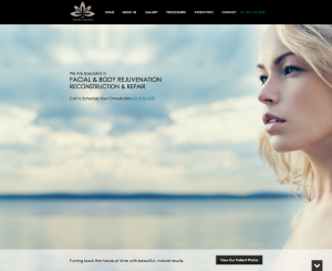 plastic surgeon in canberra, canberra plastic surgery, medical website design, dr chandra patel