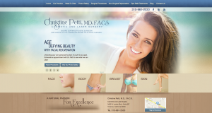 plastic surgeon, Spa Bella, cellulite reduction treatment, plastic surgery website design, Dr. Christine Petti, The Doctors