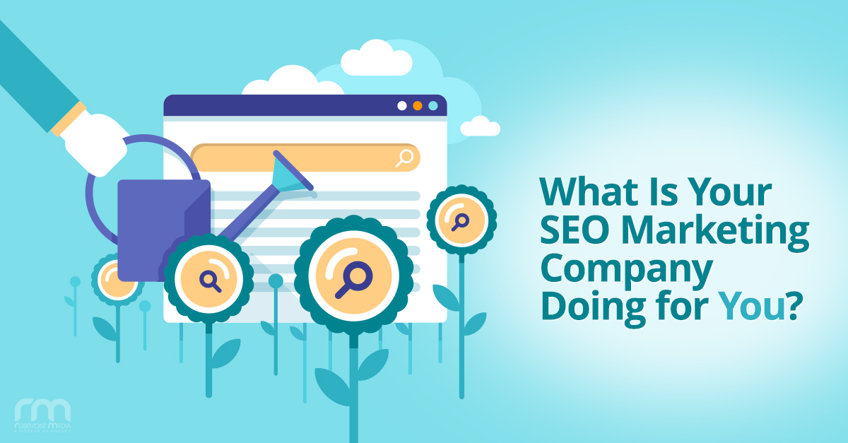 What is Your SEO Company Doing for You