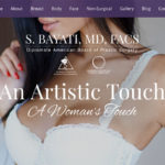 Newport Beach plastic surgeon Semira Bayati, MD launches new website.