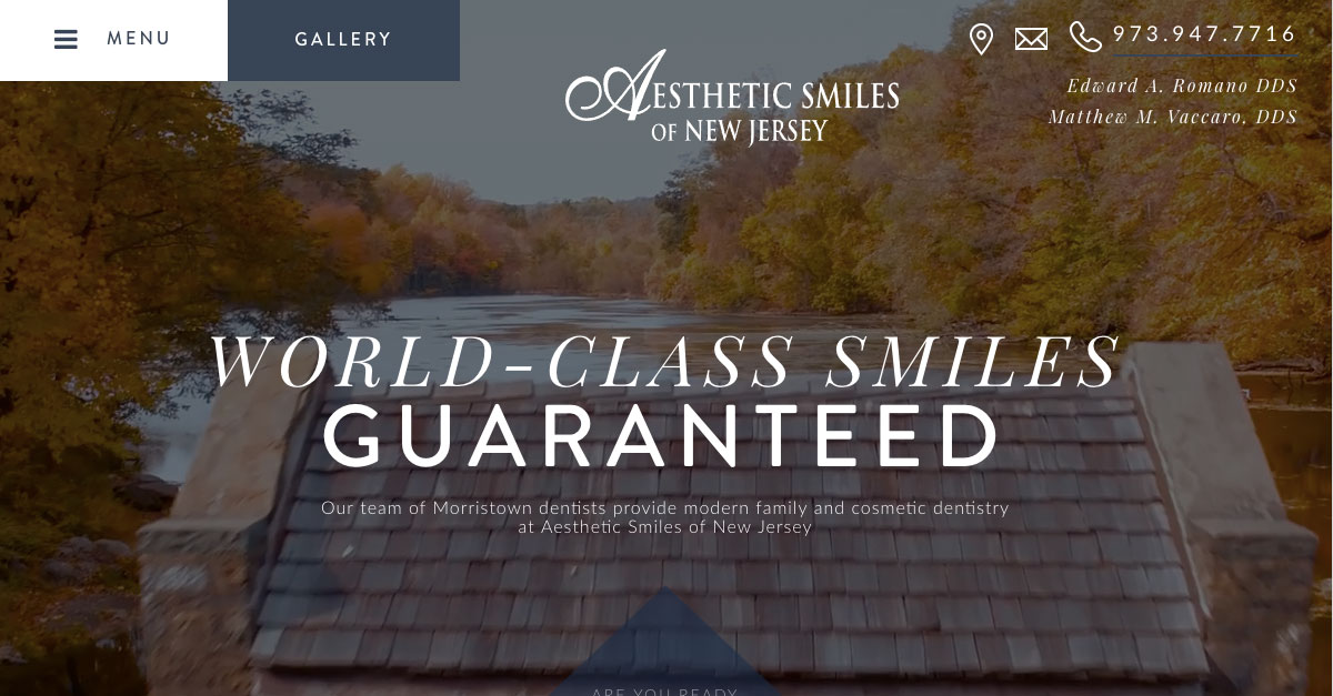 Aesthetic Smiles of New Jersey launches new, custom-designed website