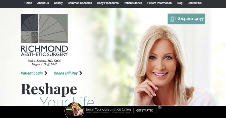 Richmond Aesthetic Surgery Launches Tummy Tuck Specialty Site