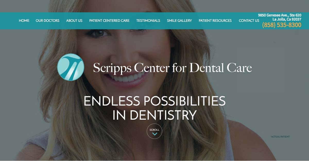 La Jolla Dentists Debut Revamped Responsive Website