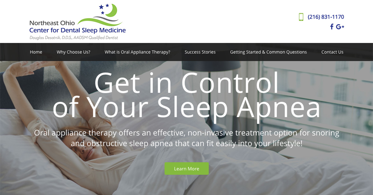 Dr. Douglas Desatnik is launching a new website for sleep apnea patients looking for alternatives to CPAP therapy.