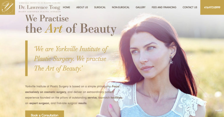 Dr. Tong Launches New Fully Responsive Website Design