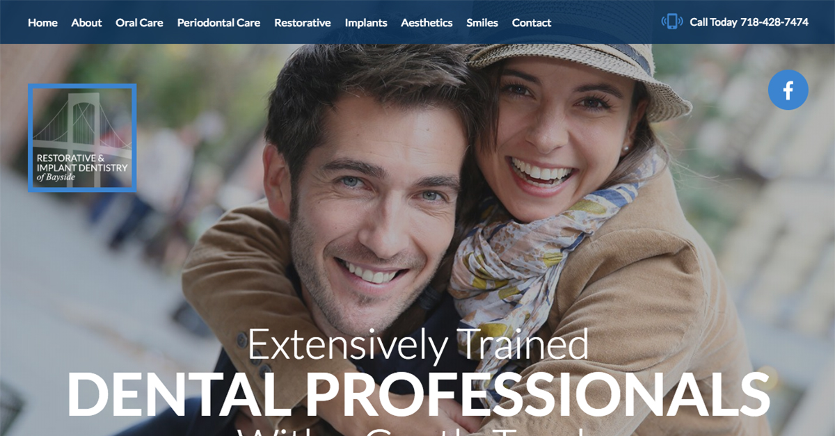 Queens NYC Prosthodontist Dr. Sameet Sheth Debuts Responsive Dental Website