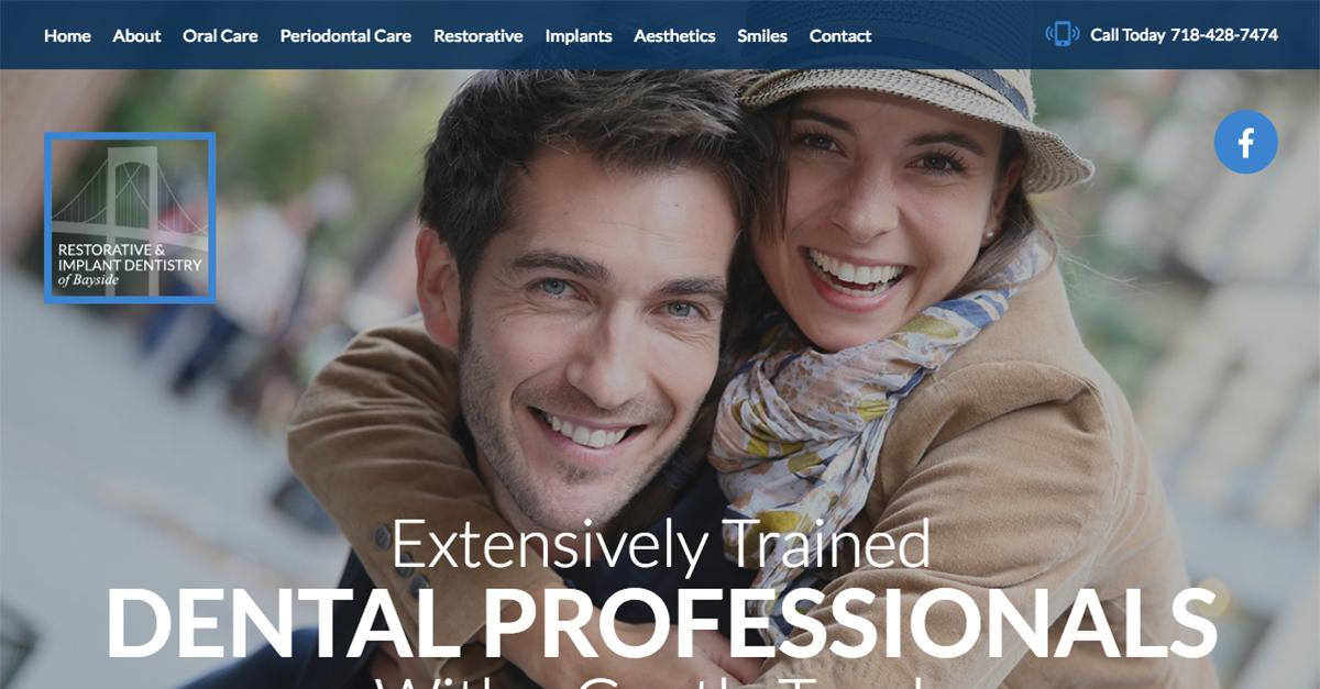 Queens NYC Prosthodontist Dr. Sameet Sheth Debuts Responsive Dental Website