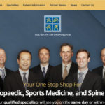 All-Star Orthopaedics surgeons discuss their website update