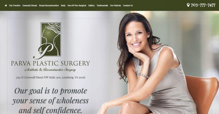 Dr. Parva announces new responsive website design