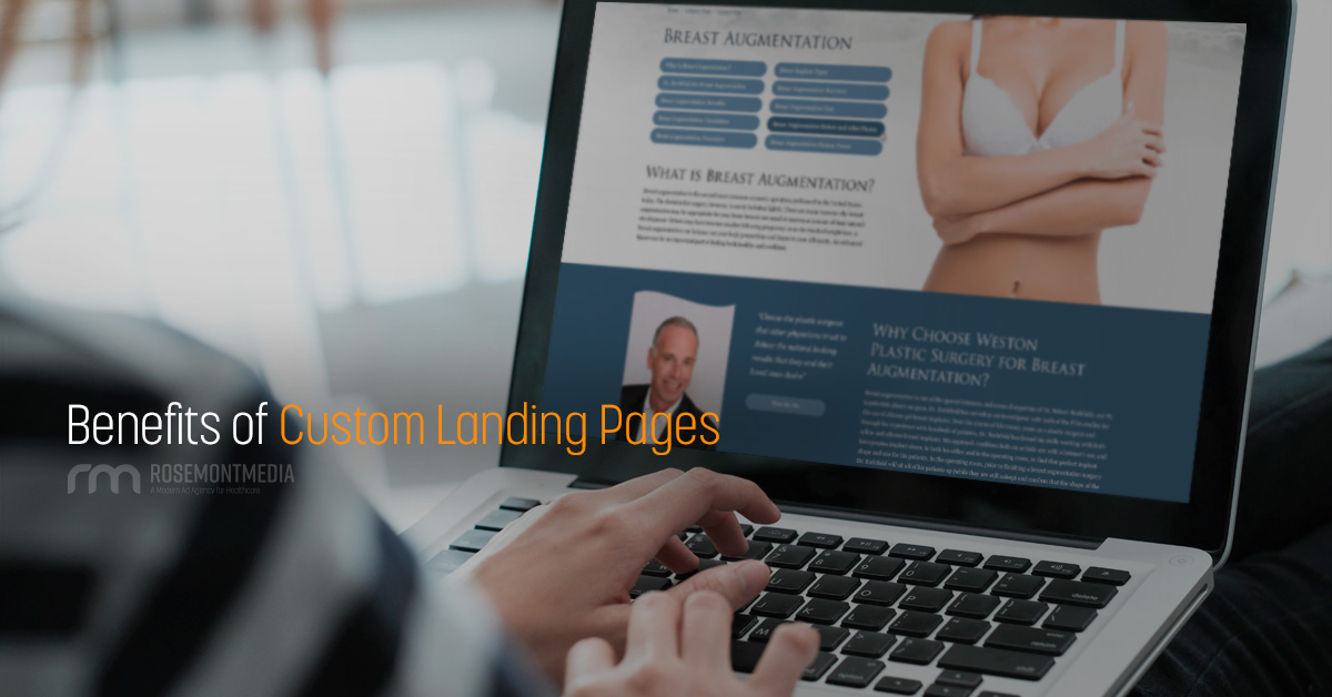 Benefits of custom landing pages
