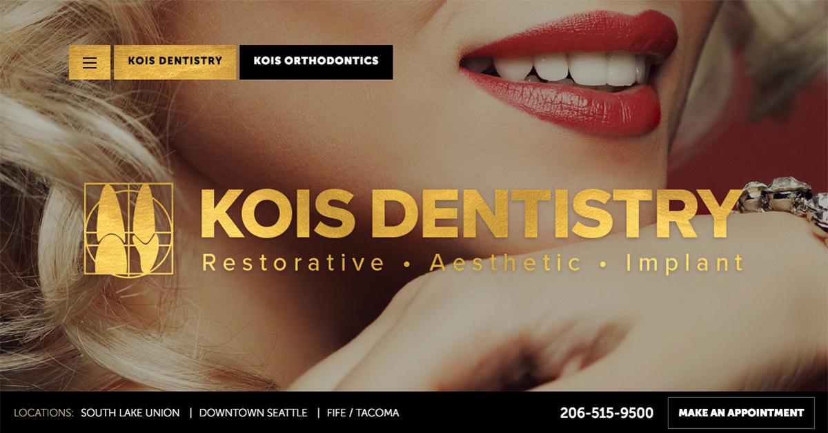 Kois Dentistry Undergoes Website Redesign
