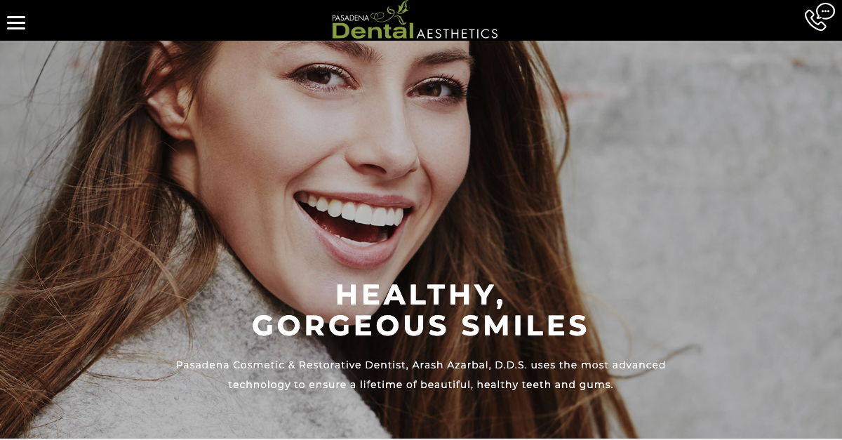 Pasadena Dental Aesthetics unveils a new, responsive website for viewers looking for dental treatment services.