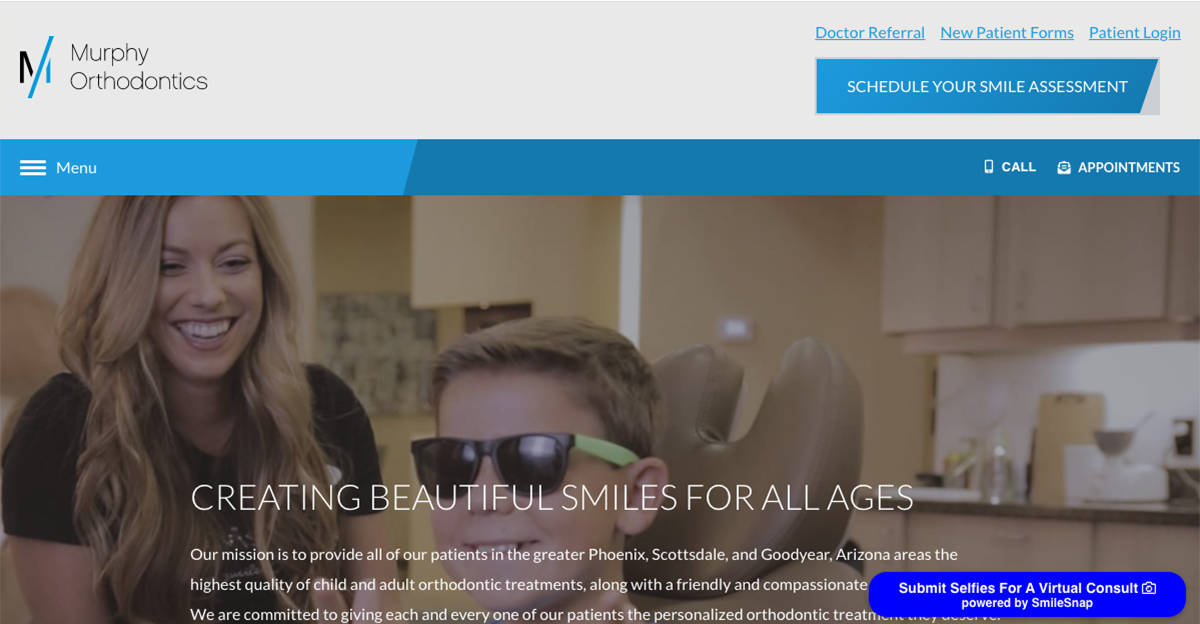 Phoenix Orthodontist Partners with Rosemont Media to Launch Expansive New Website
