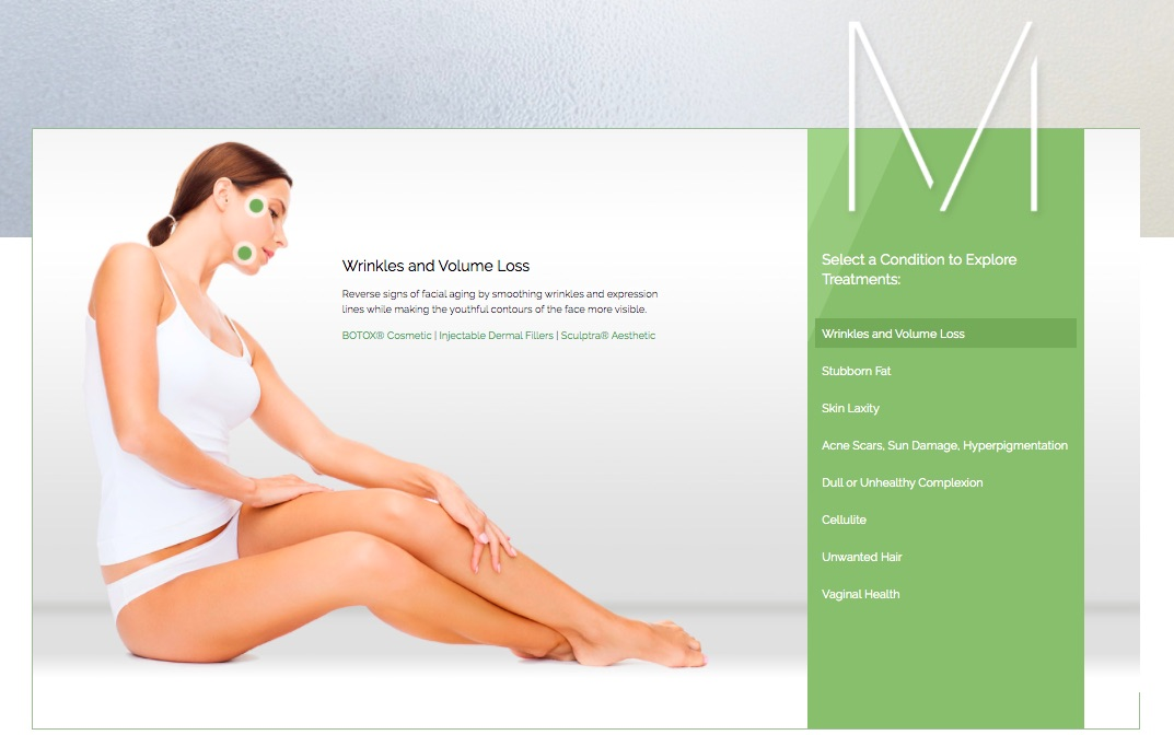 Example of informative multimedia on McCormack Plastic Surgery's website