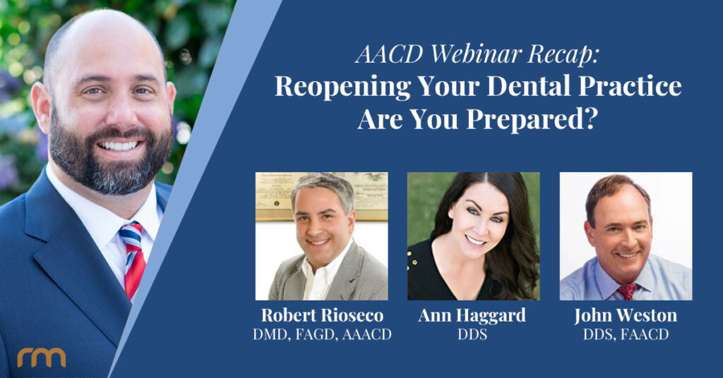Tips for Reopening Dental Practices
