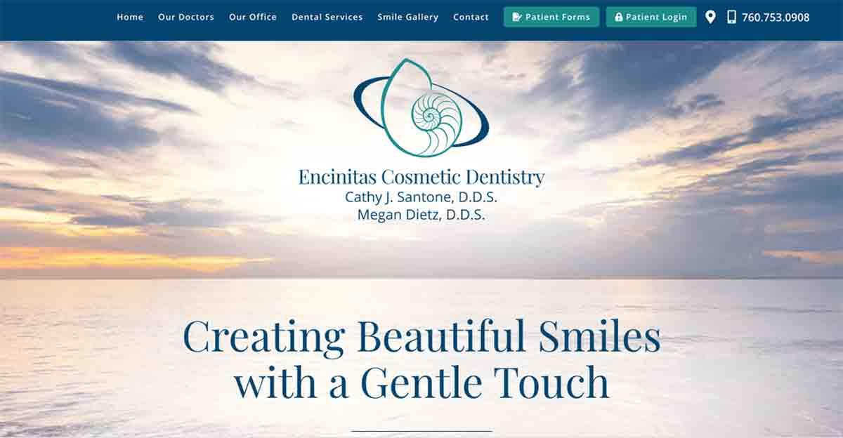 Encinitas Cosmetic Dentists Unveil New Dental Website
