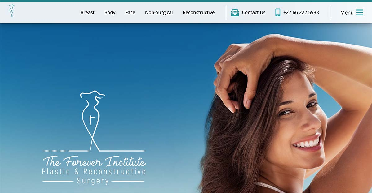 Plastic Surgeon in Johannesburg Launches Upgraded Medical Website