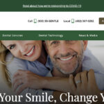 Odessa cosmetic dentist Dr. Robin Rutherford worked with Rosemont Media to design a new website for his practice.