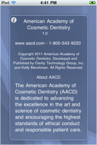 cosmetic, dentistry, mobile, marketing, Boston, AACD