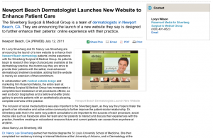 dermatology, dermatologists, medical, website, design, Newport, Beach, CA