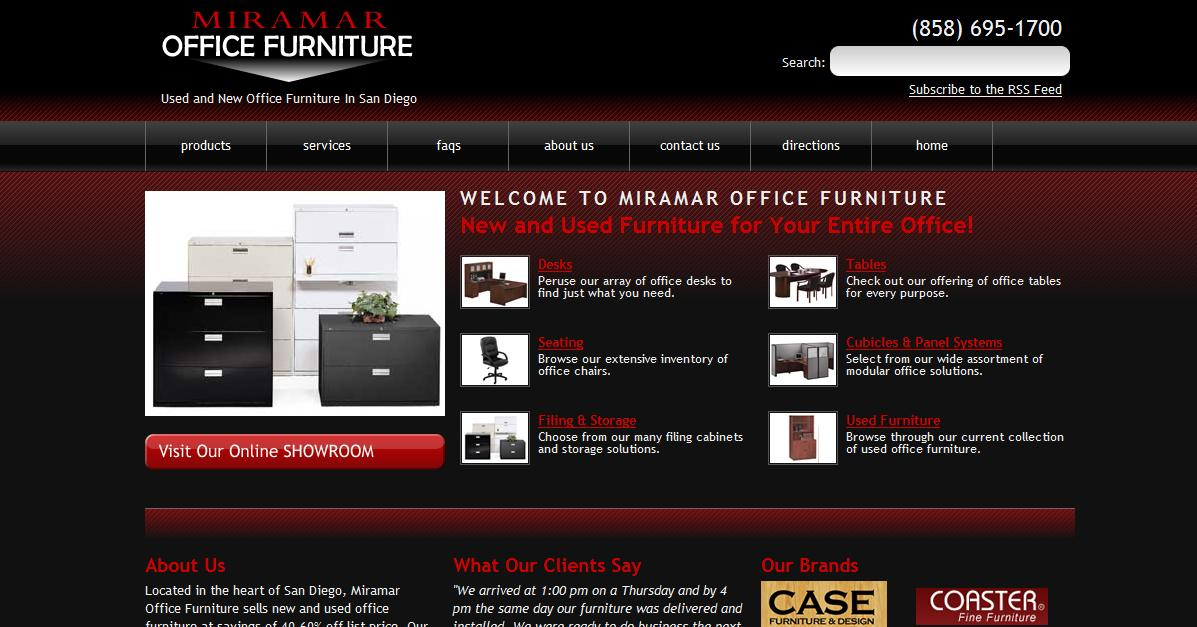 Rosemont Media Launches Miramar Office Furniture 39 S New Website