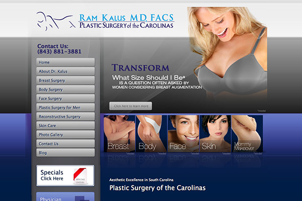 Plastic Surgery of the Carolinas