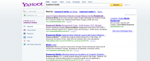 Yahoo Search results for Rosemont Media